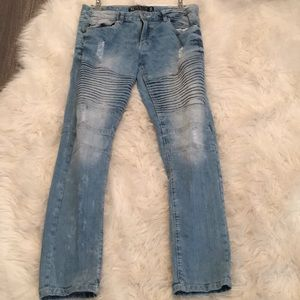 NWOT men's southpole super flex skinny jeans
